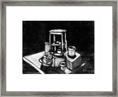 Still Life Framed Print by Dave Atkins