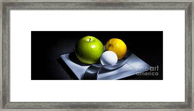 Framed Print featuring the photograph Still Life Eclectic 2 by Cecil Fuselier