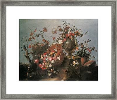 Still Life Framed Print by Francesco Guardi