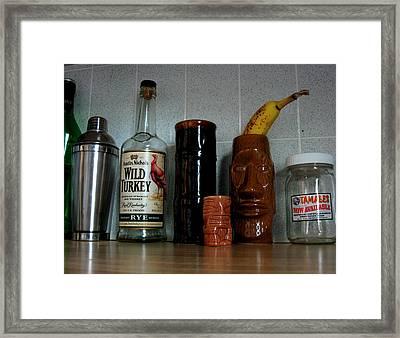 Still Life In My Kitchen Framed Print