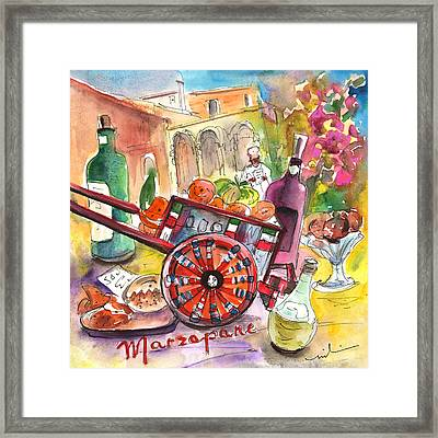 Still Life In Taormina 02 Framed Print by Miki De Goodaboom