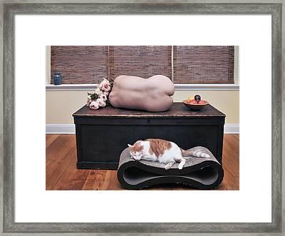 Still Life Framed Print by Mayumi Yoshimaru