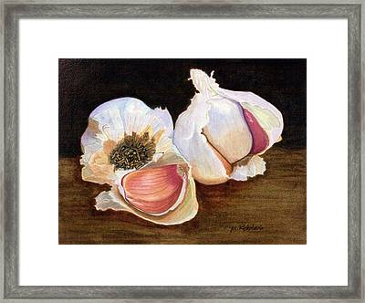 Still Life No. 2 Framed Print by Mike Robles