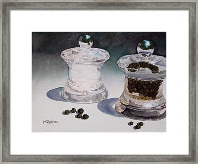 Still Life No. 4 Framed Print by Mike Robles