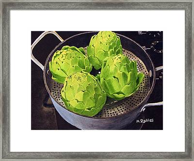 Still Life No. 6 Framed Print by Mike Robles