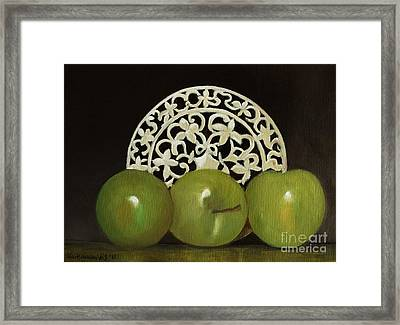 Still Life No-7 Framed Print by Kostas Koutsoukanidis