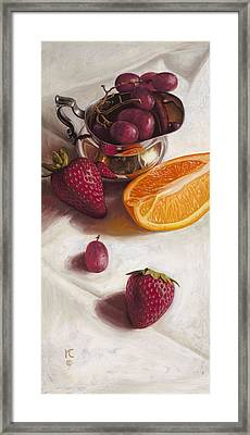 Still Life Reflections Framed Print by Ron Crabb
