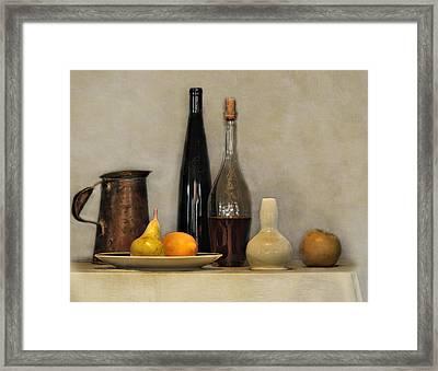 Still Life Study Framed Print by Carol Eade