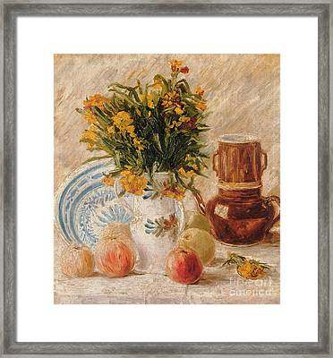 Still Life Framed Print by Vincent van Gogh