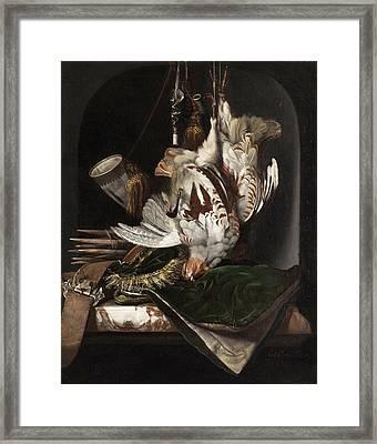 Still Life Framed Print by Willem van Aels
