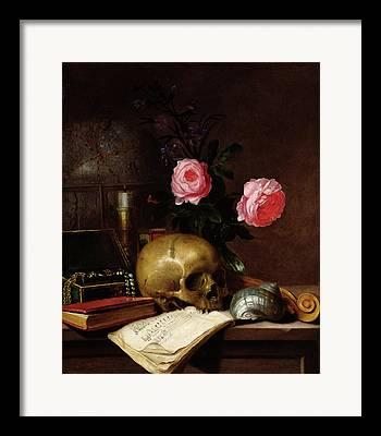 Vase Of Flowers Photographs Framed Prints