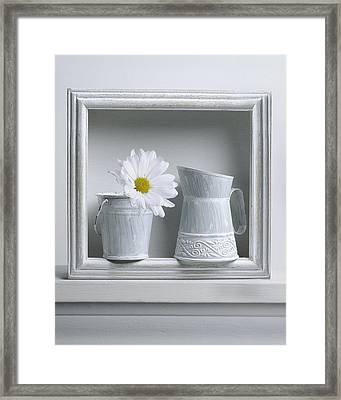 Still Life With A Wooden Box Framed Print