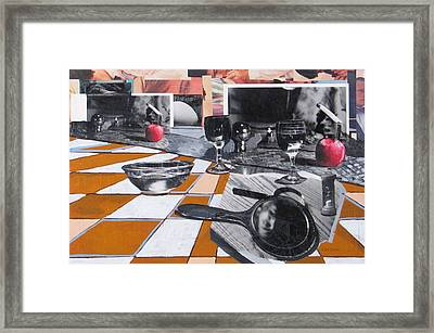 Still Life With Apples Framed Print by Rollin Kocsis