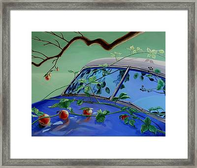 Still Life With Car Framed Print