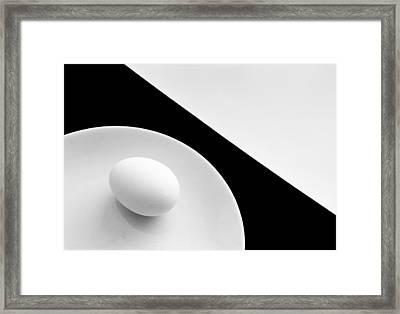 Still Life With Egg Framed Print