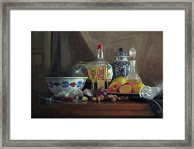 Still Life With Els Framed Print