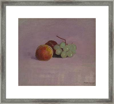 Still Life With Fruit, 1905 Framed Print by Odilon Redon