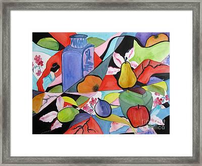 Still Life With Geisha Framed Print by Gwen Nichols