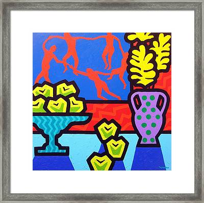 Still Life With Matisse Framed Print