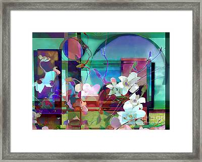 Still Life With Orchids Framed Print by Ursula Freer