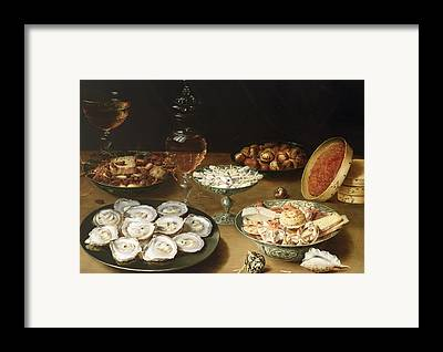 Still-life With Quinces Framed Prints