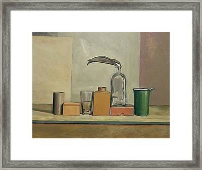 Still Life With Passion Pods  Framed Print by William Packer