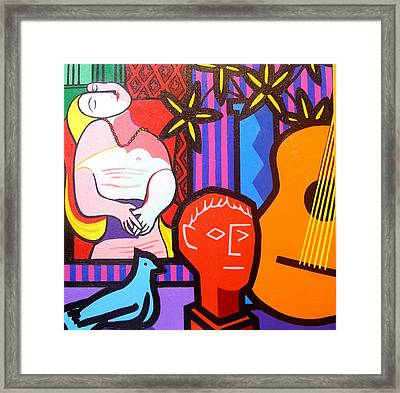 Still Life With Picasso's Dream Framed Print