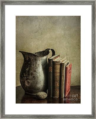 Still Life With Pitcher Framed Print by Terry Rowe