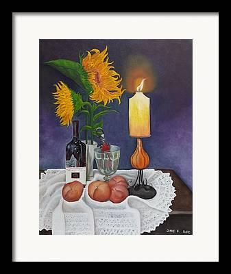 Wine Holder Paintings Framed Prints