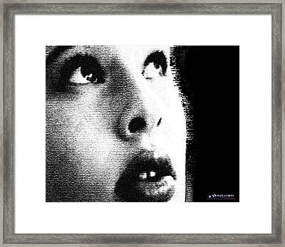 Still Looking Up Framed Print
