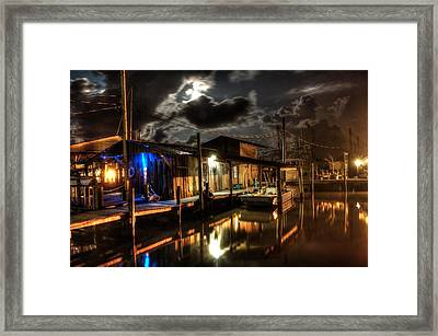 Still Marina Framed Print by Michael Thomas