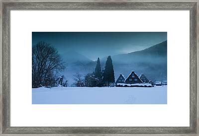 Still Of Evening Framed Print by Aaron Bedell