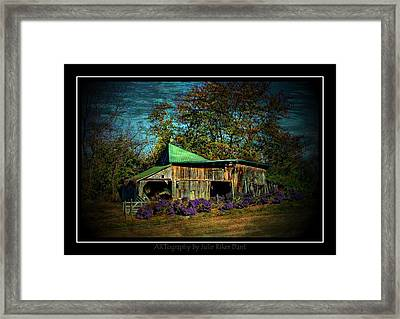 Still Picturesque Framed Print by Julie Dant