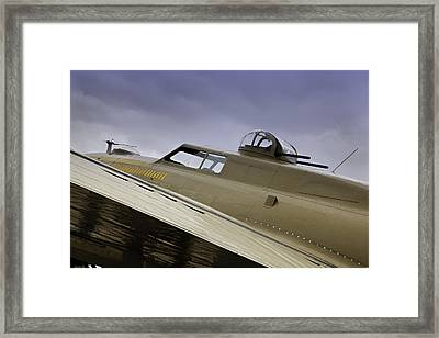Still Ready To Fly Framed Print