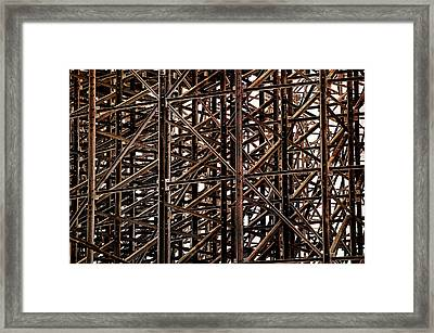 Still Standing Framed Print by Andy Crawford