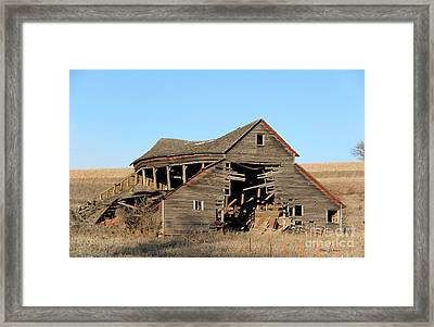 Still Standing But Not Too Long Framed Print by Yumi Johnson