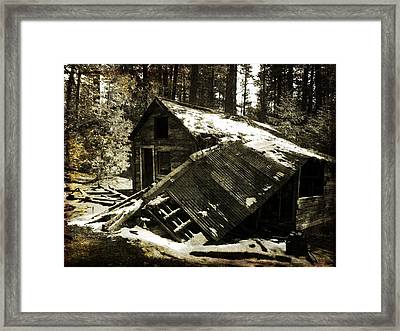 Still Standing Framed Print by Leah Moore