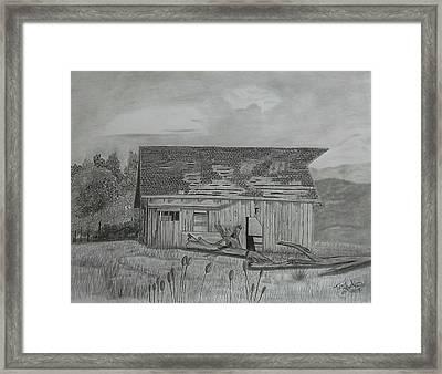 Still Standing Framed Print by Tony Clark
