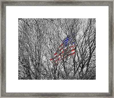 Still There Framed Print