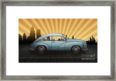 Still They Ride V1 Framed Print by Bedros Awak