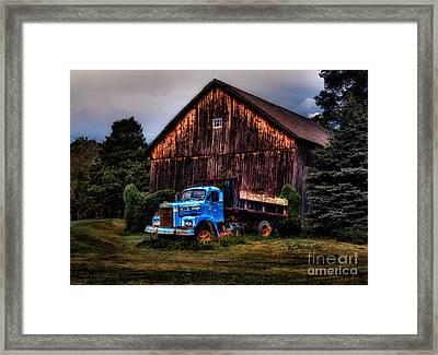 Still Truckin Framed Print by Susan Candelario