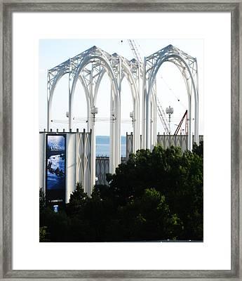 Still Under Construction Framed Print