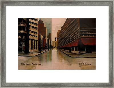 Still Under Construction Fourteen Framed Print