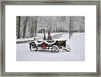 Still Useful  Framed Print by Charles Trinkle