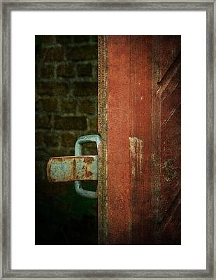 Still Waiting At Your Gate Framed Print