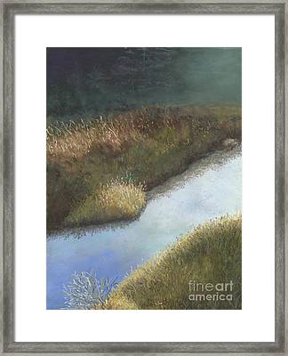 Still Water Framed Print by Ginny Neece