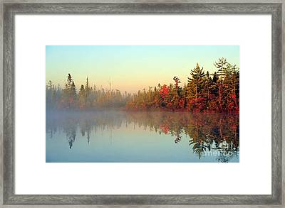 Still Water Marsh Framed Print