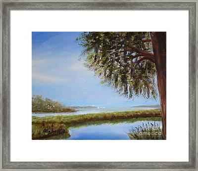 Still Water Framed Print