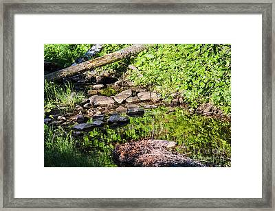 Still Waters 2 Framed Print
