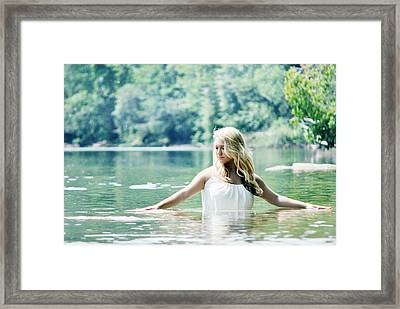 Still Waters Framed Print by Chastity Hoff